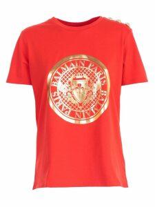 Balmain T-shirt S/s W/print