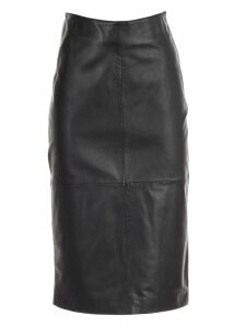 Parosh Skirt Pencil Leather