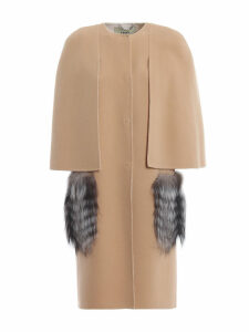 Fendi Wool Cape