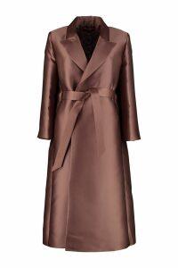 Max Mara Studio Duchesse Silk Coat