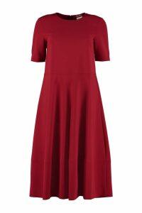 Max Mara Studio Short Sleeves Cady Dress