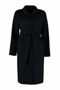 S Max Mara Here is The Cube Virgin Wool Coat