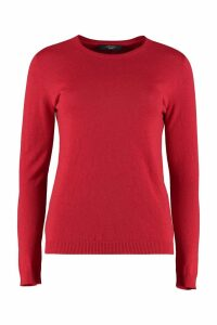 Weekend Max Mara Crew-neck Cashmere Sweater