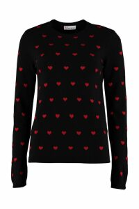RED Valentino Wool Crew-neck Pullover