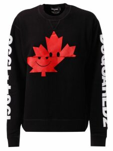 Dsquared2 Logo On Sleeve Sweatshirt