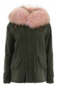 Mr & Mrs Italy Jazzy Mini Parka With Fur