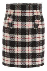 Miu Miu Tartan Mini Skirt