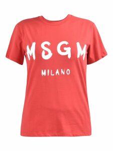 MSGM Branded T-shirt
