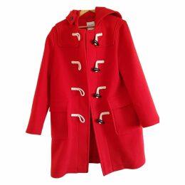 Red Cotton Coat