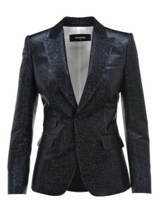 D Squared Glitter Single Breasted Blazer