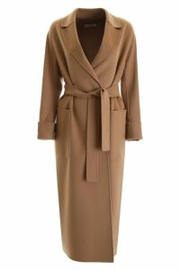 S Max Mara Here is The Cube Algeri Wrap Coat