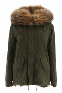Mr & Mrs Italy Mini Jazzy Parka With Fur