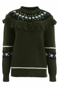 Miu Miu Pullover With Embroidery