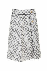 Gucci canvas skirt with GG monogram