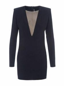 D Squared V-neck Mini Dress