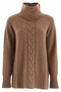 S Max Mara Here is The Cube Cable Knit Pull