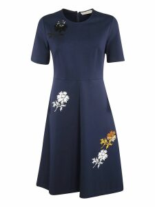 Tory Burch Embellished Ponte Dress