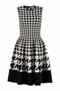 Alexander McQueen Jacquard Knit Dress