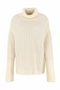 Marni Ribbed Turtleneck Sweater