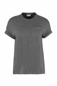Brunello Cucinelli Cotton T-shirt With Chest Pocket
