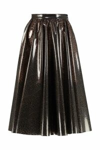 MSGM Printed Pvc Skirt