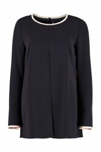 Max Mara Ciad Stretch Cady Blouse
