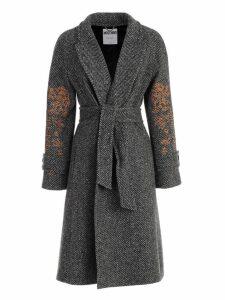Moschino Dress L/s V Neck