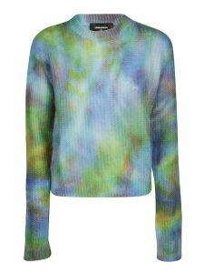 Dsquared2 Tie And Dye Knit Jumper