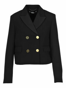 Stella Mccartney Double Breasted Cropped Blazer