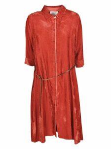 Forte Forte Belted Ribbed Dress