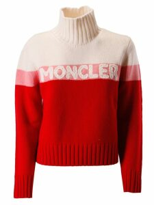 Moncler Logo Embroidered Sweater