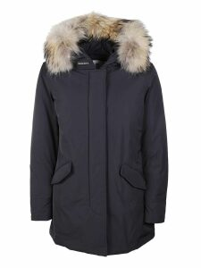 Woolrich Fur Trimmed Jacket