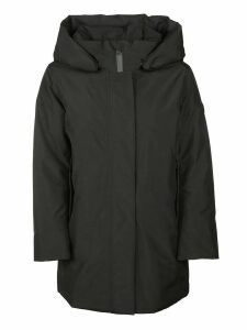 Woolrich Hooded Raincoat