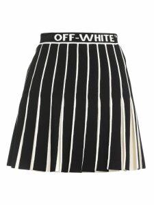 Off-White Ribbed Skirt