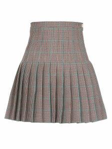 Off-White Wool Skirt