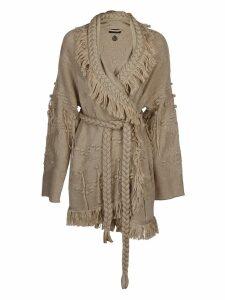 Alanui Blend Wrap Cardi-coat