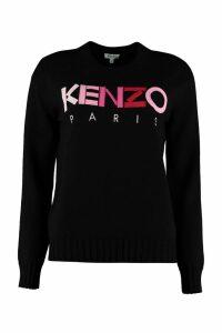 Kenzo Crew-neck Wool Sweater