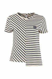 Loewe Stretch Cotton Asymmetric T-shirt