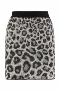 Alberta Ferretti Jacquard Knit Skirt