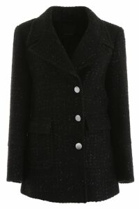 Pinko Lurex Tweed Coat