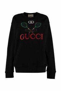 Gucci Embroidered Oversize Sweatshirt