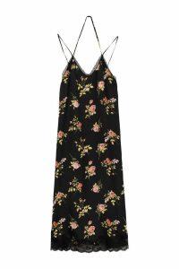 R13 Printed Satin Dress