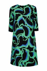 Marni Teardrop Print Cady Dress