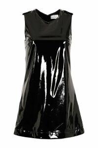 Chiara Ferragni Vinyl Mini-dress