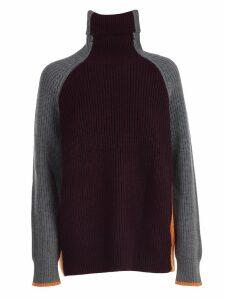 Victoria Victoria Beckham Sweater L/s Over Turtle Neck