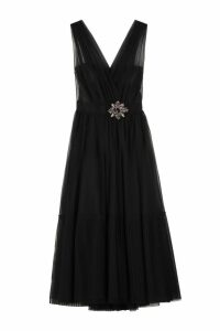 Pinko Ottimare Tulle Long Dress