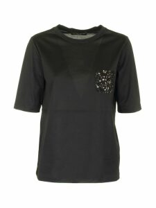 Fabiana Filippi Crew Neck Cotton T-shirt