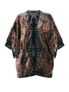 Etro - Paisley Velvet Devoré Jacket - Womens - Black