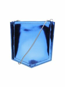 Mm6 Metallic Pocket Crossbody Bag