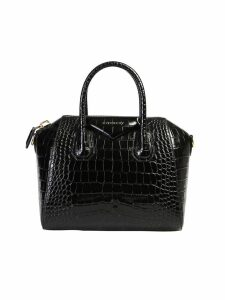 Givenchy Crocodile Print Small Antigona Bag